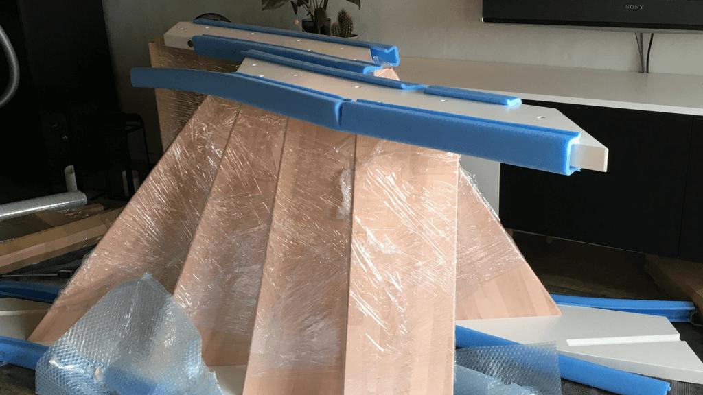 Indendørs trappe gør det selv samlet