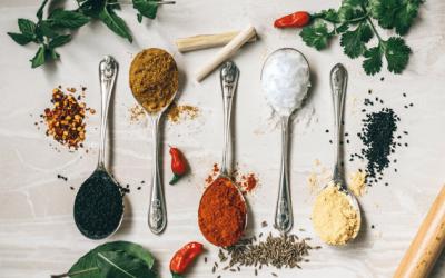 De 10 mest brugte krydderier i mit køkken