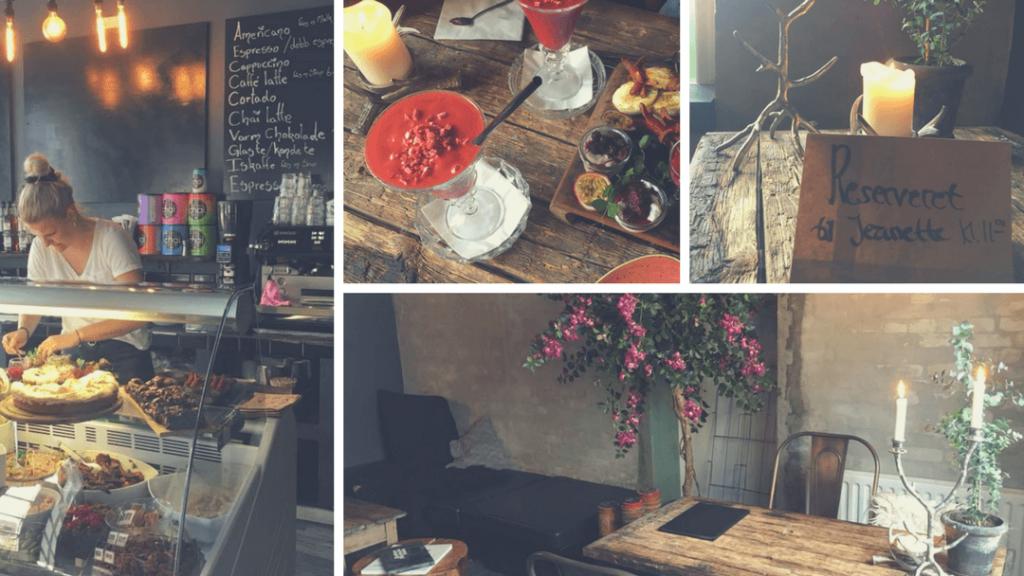 Venindedate på Café Elysia i Næstved